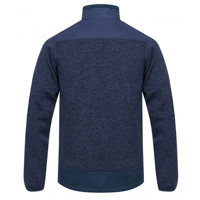 Men zip fleece sweater Husky Alan M dark blue / dark. blue, Husky