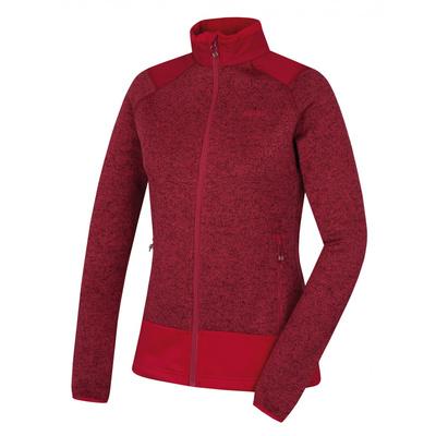 Women's zip fleece sweater Husky Alan L tm. magenta, Husky
