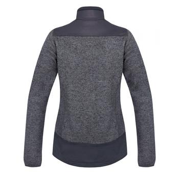 Women's fleece sweater zipped Husky Alan L dark grey, Husky