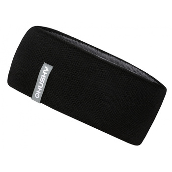 Men's merino Merband headband 1 Black, Husky