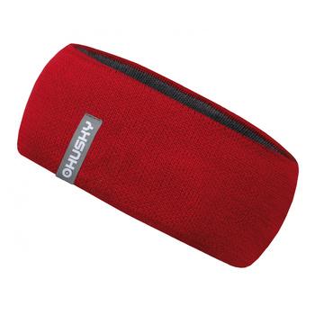 Women's merino headband Merband 2 Red, Husky
