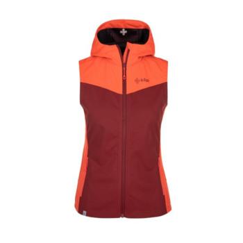 Women's softshell vest Kilpi CORTINA-W dark red, Kilpi