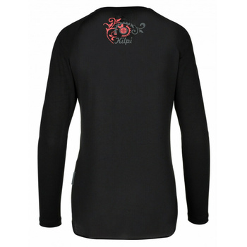 Women's functional t-shirt Kilpi EXPLOSION-W Black, Kilpi