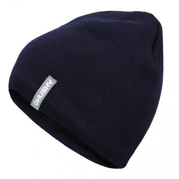 Men's merino cap Husky Merhat 3 dark blue, Husky