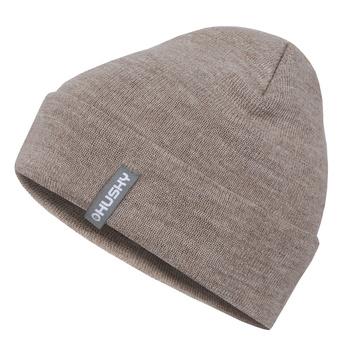 Women's merino cap Husky Merhat 4 beige, Husky