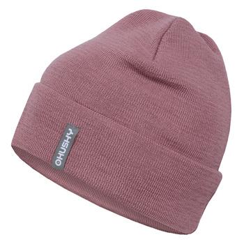 Women's merino cap Husky Merhat 4 pink, Husky