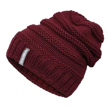 Women's merino cap Husky Merhat 5 tm. burgundy, Husky