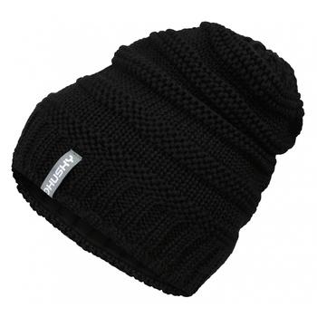 Women's merino cap Husky Merhat 5 Black, Husky