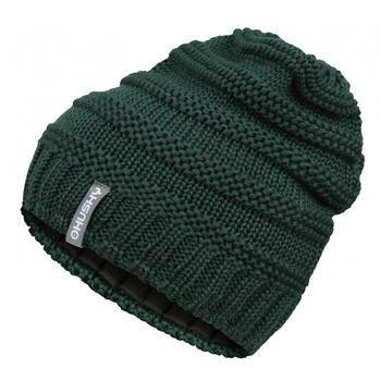 Women's merino cap Husky Merhat 5 tm. green, Husky