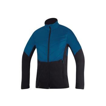 Men's outdoor jacket Direct Alpine Fusion petrol / black, Direct Alpine
