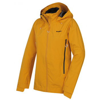 Women's outdoor jacket Husky Nakron L Yellow, Husky