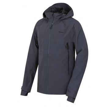 Men's outdoor jacket Husky Nakron M dark grey, Husky