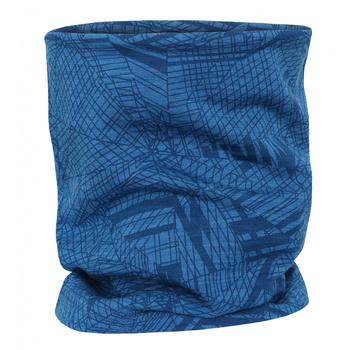 Multifunctional merino scarf Husky Merbufe blue, Husky