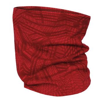 Multifunctional merino scarf Husky Merbufe Red, Husky