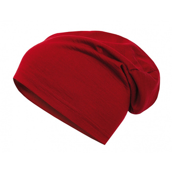 Merino caps Husky Merhat Red, Husky
