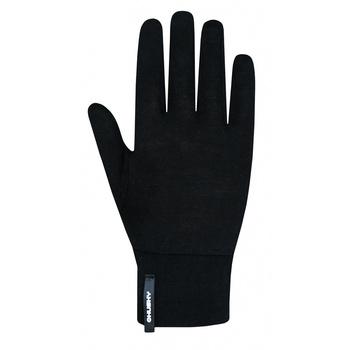 Unisex merino gloves Husky Merglov Black