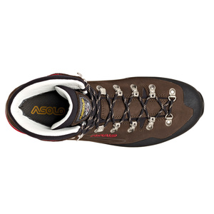 Shoes Asolo Superior GV MM dark brown/red/A904, Asolo