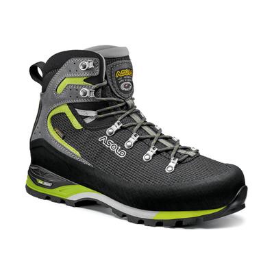 Men boots Asolo Corax GV Black / Green Lime/A561, Asolo
