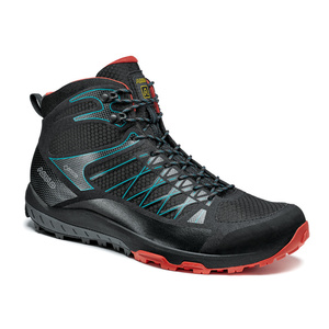 Shoes Asolo Grid Mid GV MM black/red/A392, Asolo