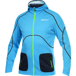 Men hoodie Craft Active FZ Hood 1901680-2330, Craft