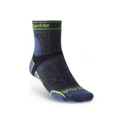 Socks Bridgedale TRAIL RUN LW T2 MS 3/4 CREW Blue/436, bridgedale