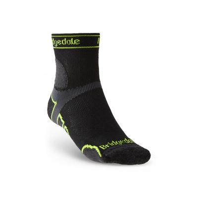 Socks Bridgedale TRAIL RUN LW T2 MS 3/4 CREW Black/845, bridgedale