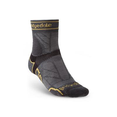 Socks Bridgedale TRAIL RUN LW T2 MS 3/4 CREW Gunmetal/866, bridgedale