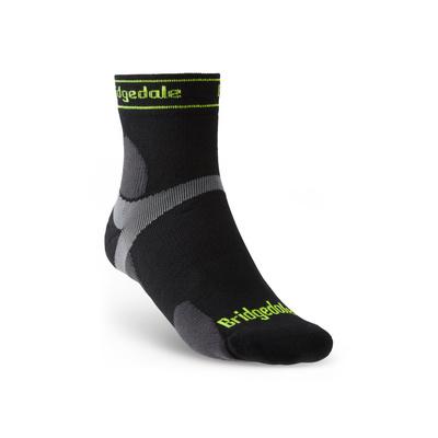 Socks Bridgedale TRAIL RUN UL T2 MS 3/4 CREW Black/845, bridgedale