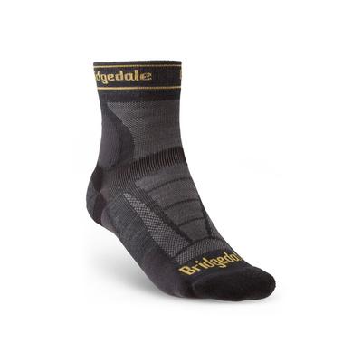 Socks Bridgedale TRAIL RUN UL T2 MS 3/4 CREW Gunmetal/866, bridgedale