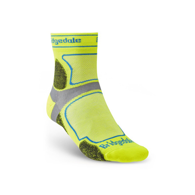 Socks Bridgedale TRAIL RUN UL T2 CS 3/4 CREW Yellow/550, bridgedale