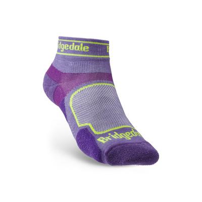 Socks Bridgedale TRAIL RUN UL T2 CS LOW WOMEN'S Purple/371, bridgedale