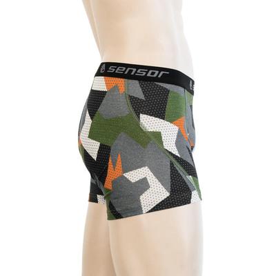 Men shorts Sensor MERINO Impress safari / camo 19200023, Sensor