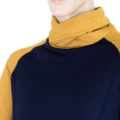 Men hoodie Sensor Coolmax Thermo dark blue / mustard 20200050, Sensor