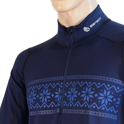 Men shirt Sensor Coolmax Thermo dark 20200047, Sensor
