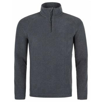 Men fleece sweatshirt Kilpi ALMERI-M grey, Kilpi