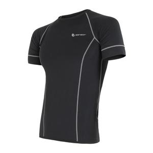 Men shirt Sensor Coolmax Fresh black 11101005, Sensor