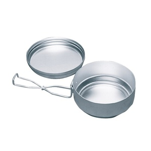 Camping cookware Yate AL two-pieces
