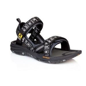 Sandals SOURCE Gobi Men's Black Inca, Source