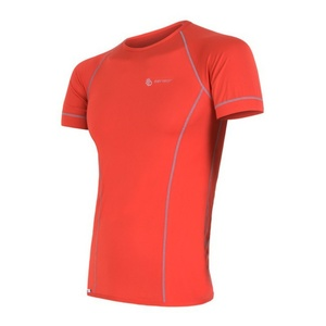 Men shirt Sensor Coolmax Fresh red 11101006, Sensor