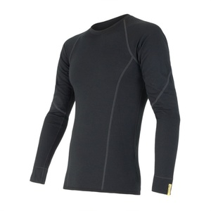 Men shirt Sensor Merino Wool Active black 11109033, Sensor