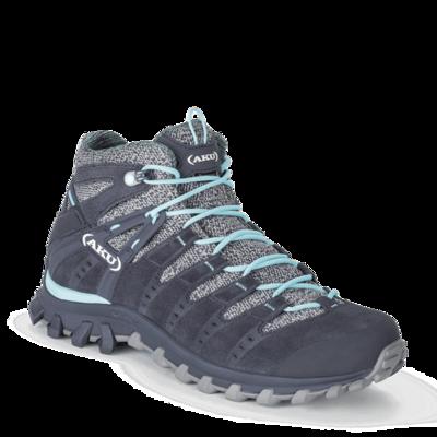 Shoes women AKU Alterra Lite GTX Mid gray / light blue, AKU