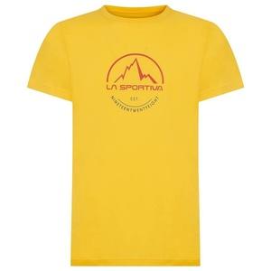 Men t-shirt La Sportiva Logo Tee yellow, La Sportiva