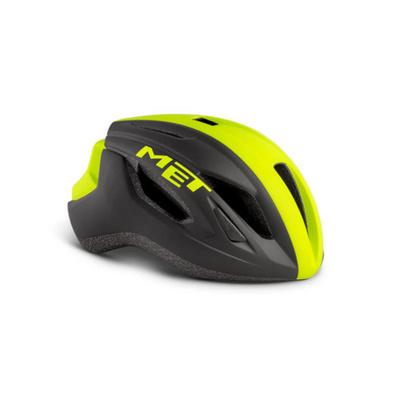 Helmet MET Straight black / reflex yellow, Met