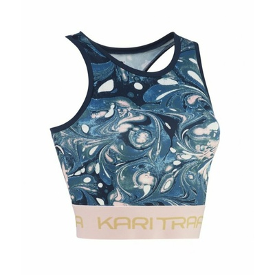 Women sports top Kari Traa Beatrice 622393 blue, Kari Traa