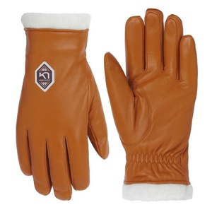 Women leather gloves Kari Traa Himle Rust, Kari Traa