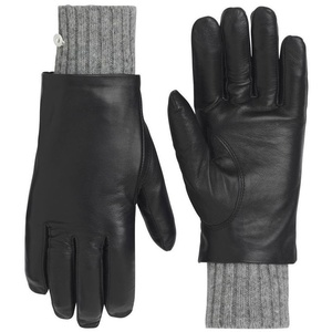 Women leather gloves Kari Traa Gjerde Black, Kari Traa