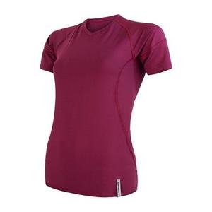 Women shirt Sensor Coolmax TECH short sleeve lilla 20100024, Sensor
