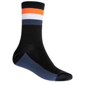 Socks Sensor COOLMAX SUMMER STRIPE black / orange 20100039