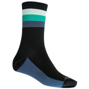 Socks Sensor COOLMAX SUMMER STRIPE black / green 20100040