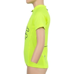Children cycling jersey Sensor ENTRY short sleeve reflex yellow Clown 20100065, Sensor